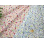 【綿生地 布地】リバティー風 綿ローン( 60ローン)布地  小花柄2色 192E1